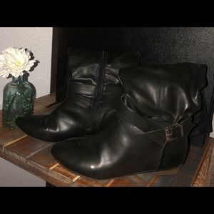 Women's Leather Boots Size 7